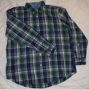 Men's Chaps button down shirt, easy care, XL